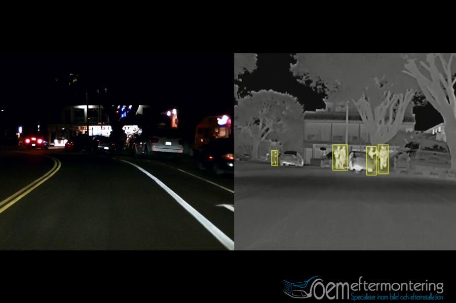 Efterinstallera Audi Night vision i bilen