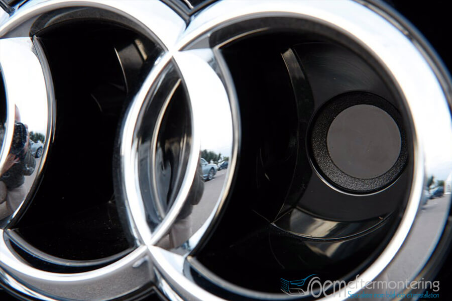 Audi night vision i grillen