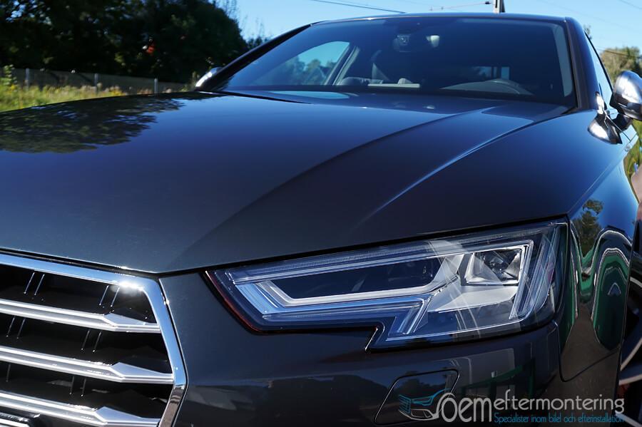 Audi A4 (B9) trafik-kamera (färdkamera)