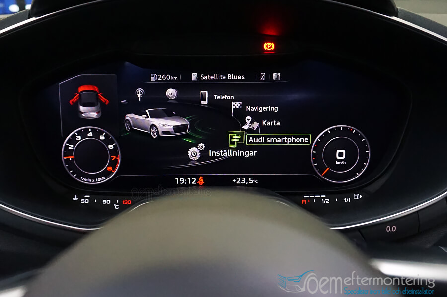 Audi Smartphone Interface (Carplay)