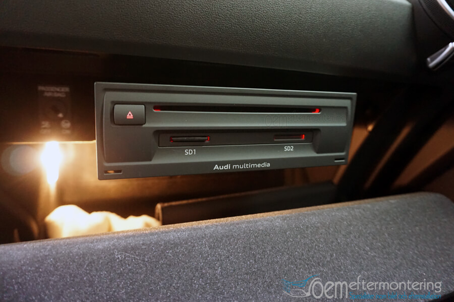 Audi TT med Connectivity-paket har 2st SD-kortläsare