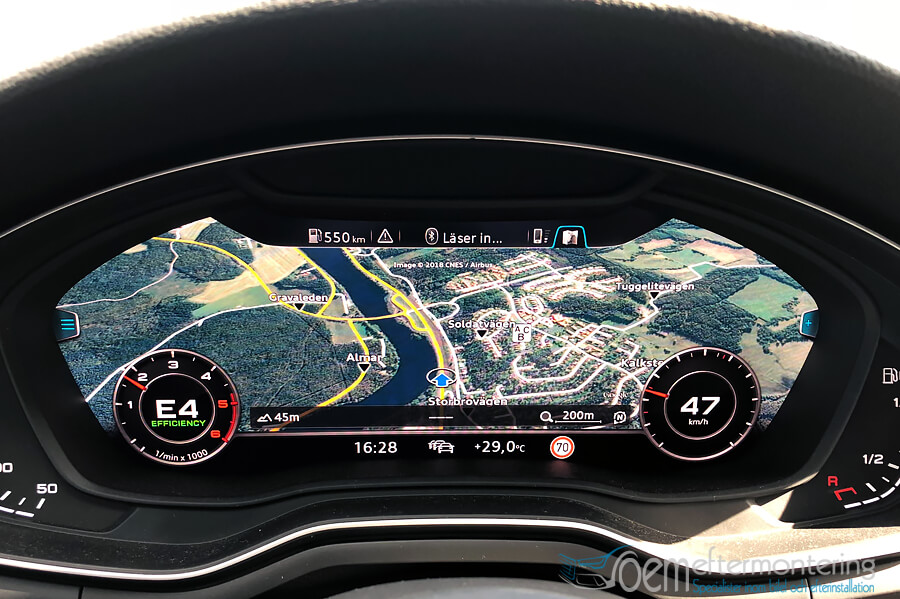 Audi MMI Navigation Plus i Audi Virtual Cockpit