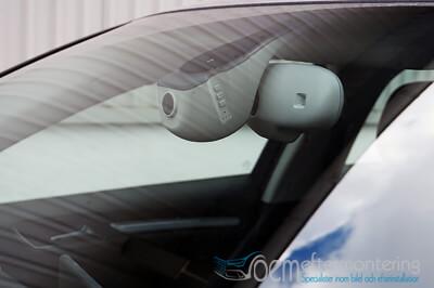 dash-kamera i audi (original) a3, a4, a5 och q5.