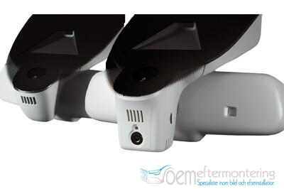 Installera trafik-kamera (färdkamera) i backspegeln audi original