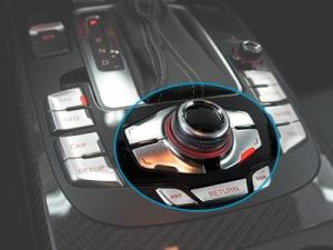 Styrning via radioknappar original Audi