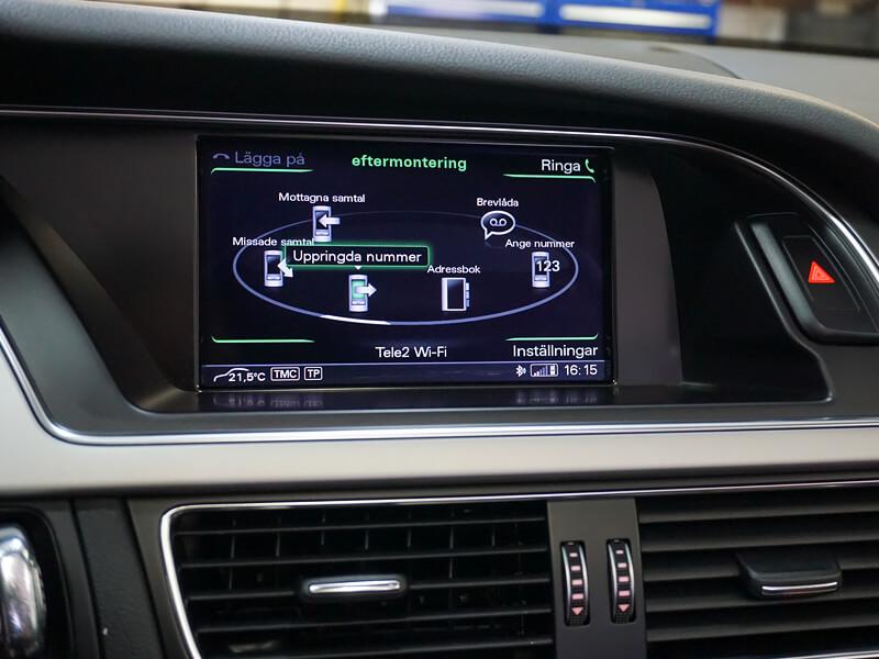 Audi original handsfree bluetooth