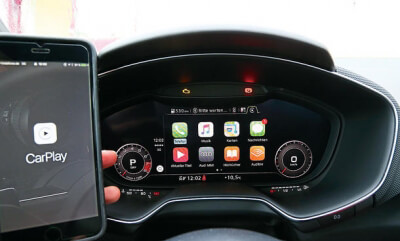 Audi Carplay aktivering